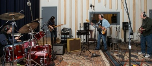 The band running through one of our tracks.