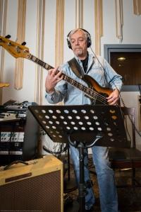 Michael Juley on the Fender Jass bass.
